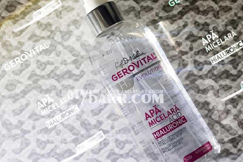 acqua micellare gerovital h3 evolution ialuronico mybarr opinioni