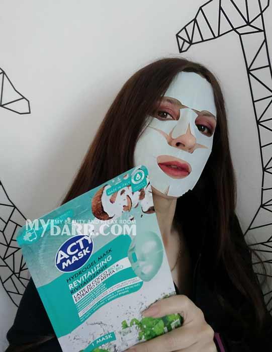 acty mask latte di cocco e menta maschera rivitalizzante mybarr opinioni