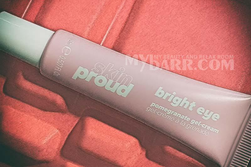 contorno occhi Skin Proud gel illuminante al melograno ovs mybarr
