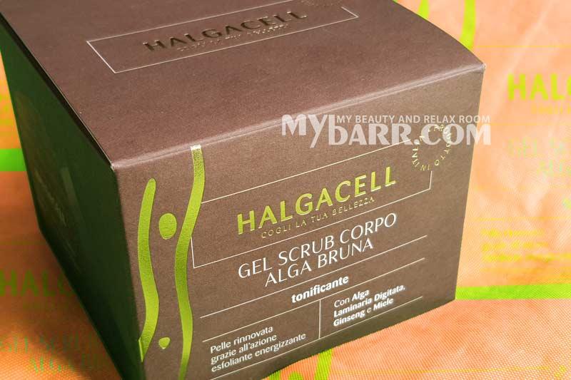 gel scrub corpo halgacell alga bruna mybarr opinioni