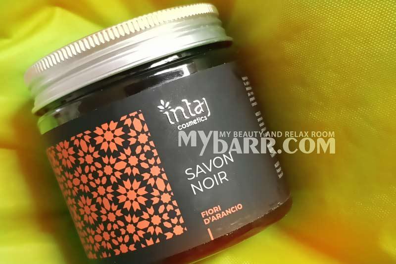 sapone nero savon noir Intaj vanilla cosmetici bio mybarr opinioni